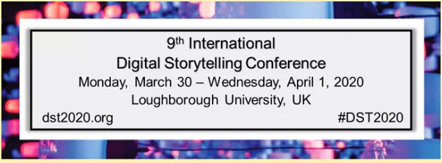 CFP: 9th International Digital Storytelling Conference